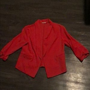 Maurices red blazer